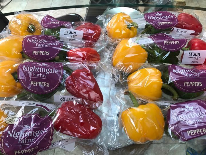 Mixed Peppers from Tesco Alliance