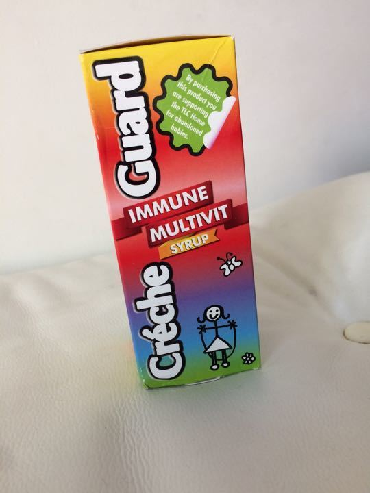 Crèche guard immune multi vit syrup 1-12 yrs