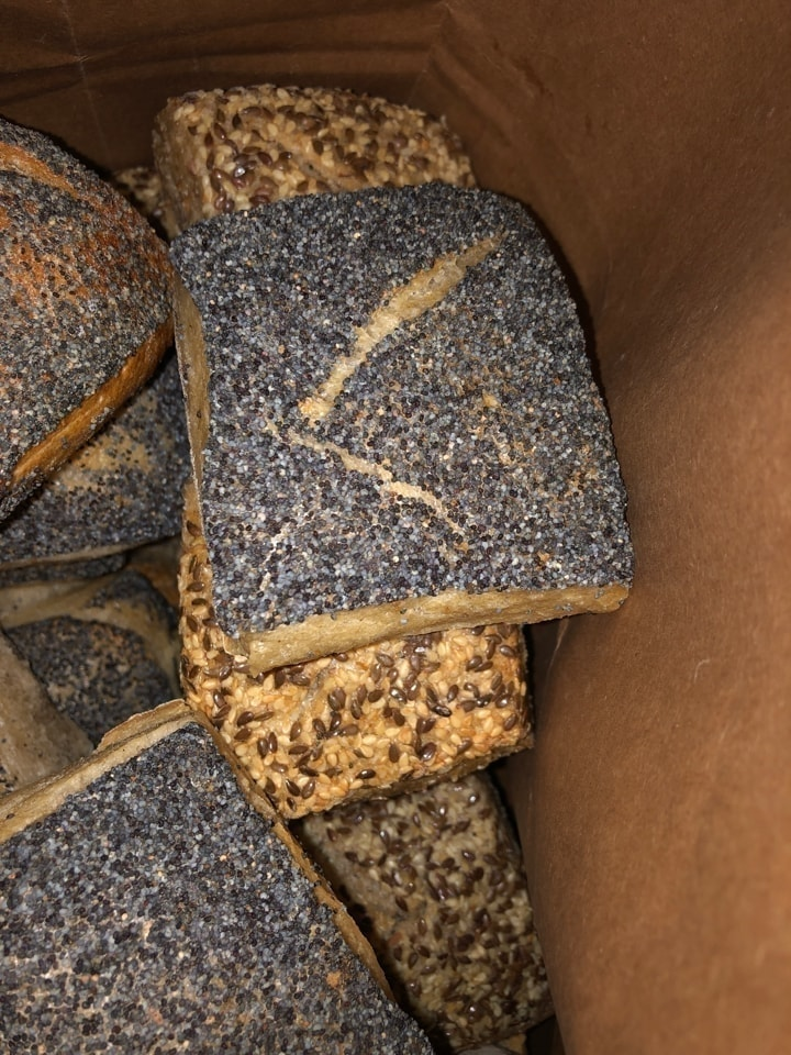 Fresh breads from Les Petits Boudens 30/11