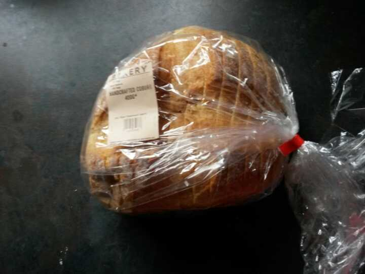 Handcrafted coburg loaf
