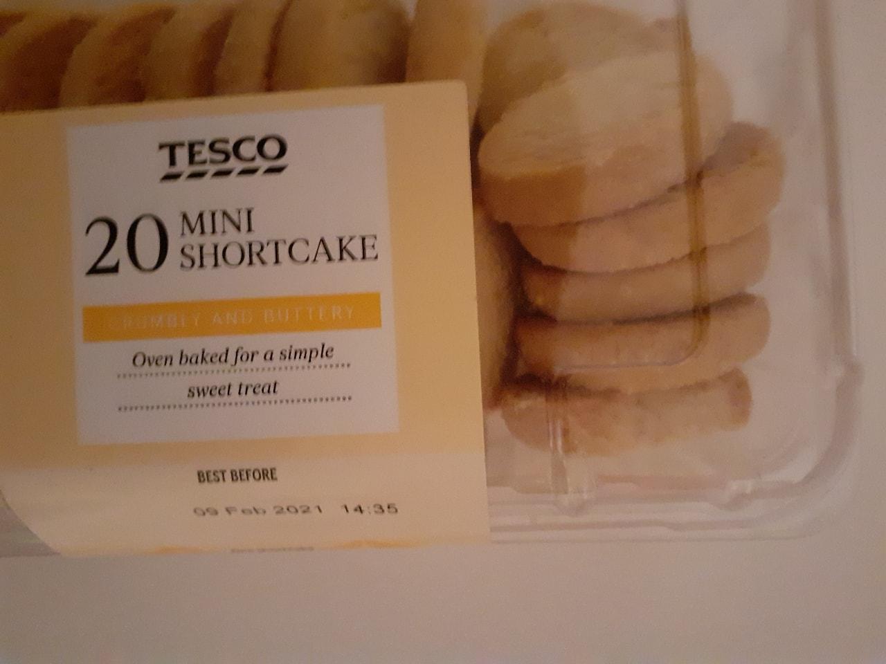 20 mini shortcake