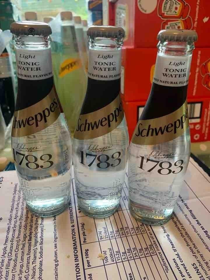 Light tonic water 3 per request