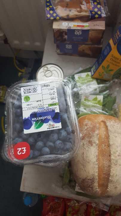 Coop blueberries