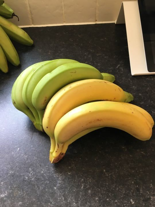 X 2 bunches of bananas (6/7 mixed per family request)
