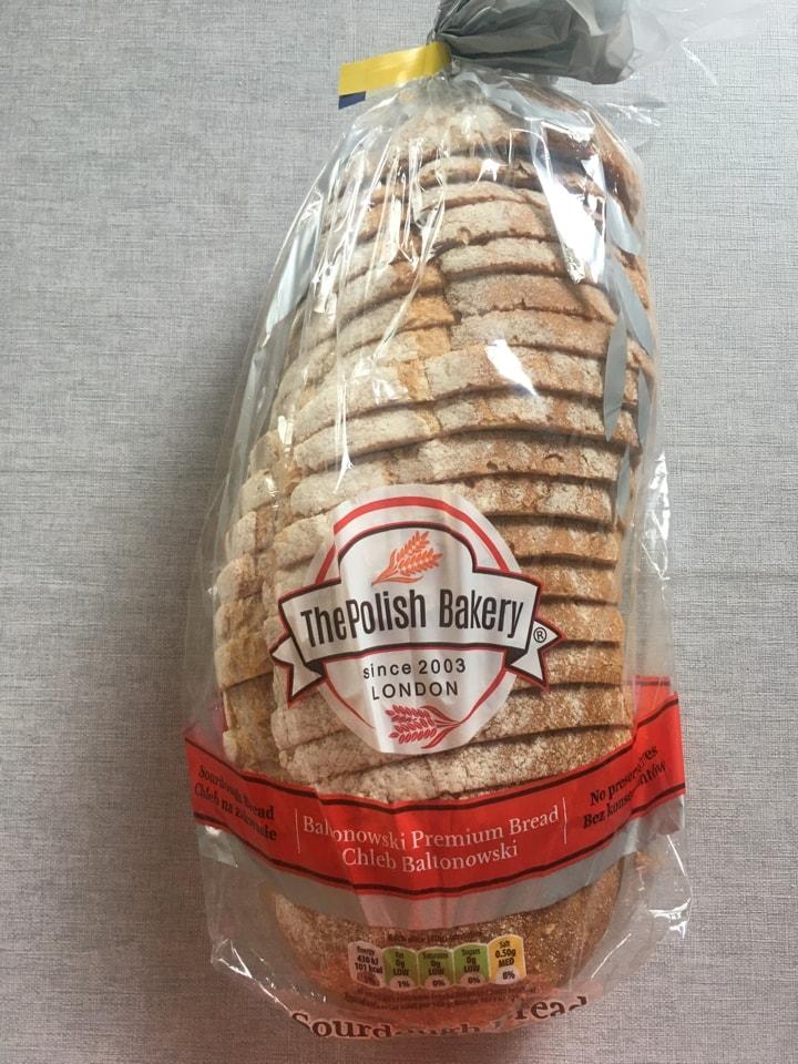 Polish bread loaf 🍞