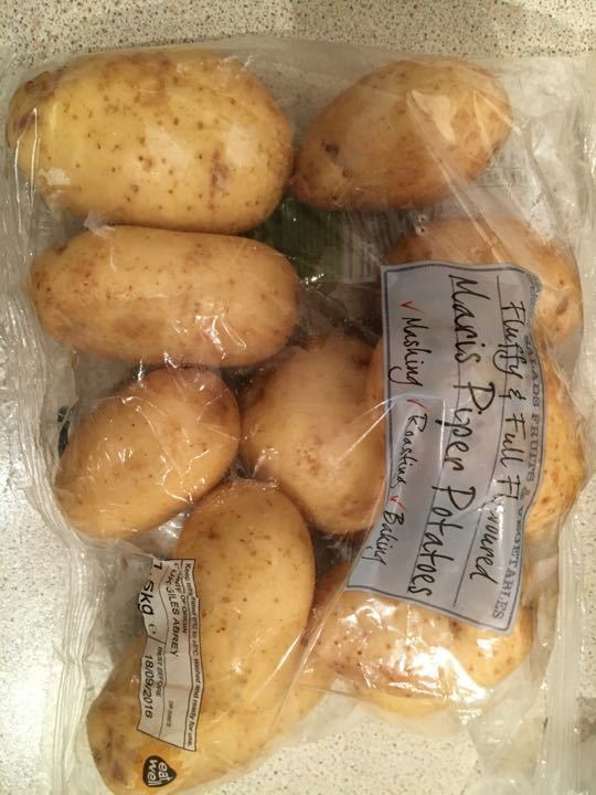 1.5kg bag potatoes