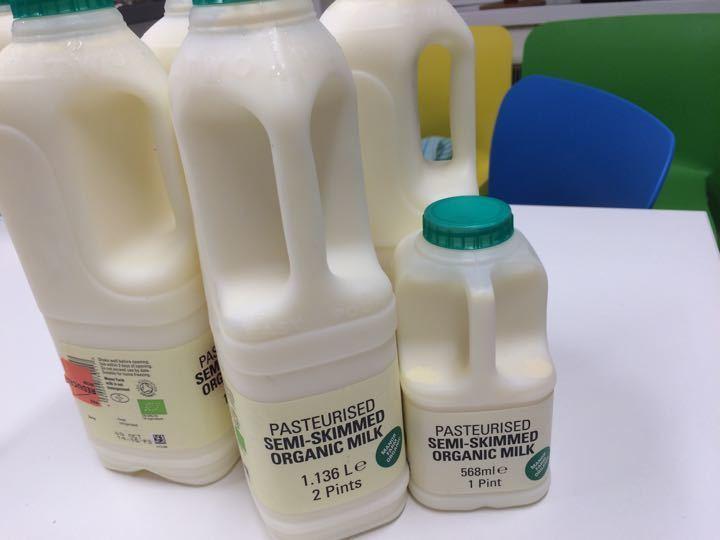 10pints Semi-Skimmed Organic Milk