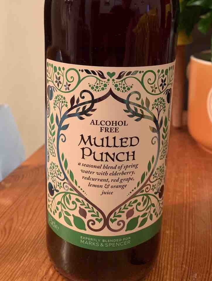 Mulled Punch (alcohol free)