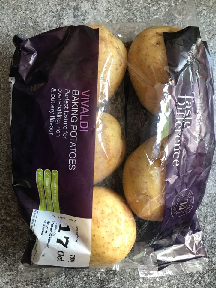Vivaldi baking potatoes