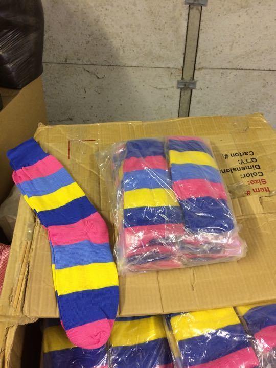 Stripy socks (12 pack)