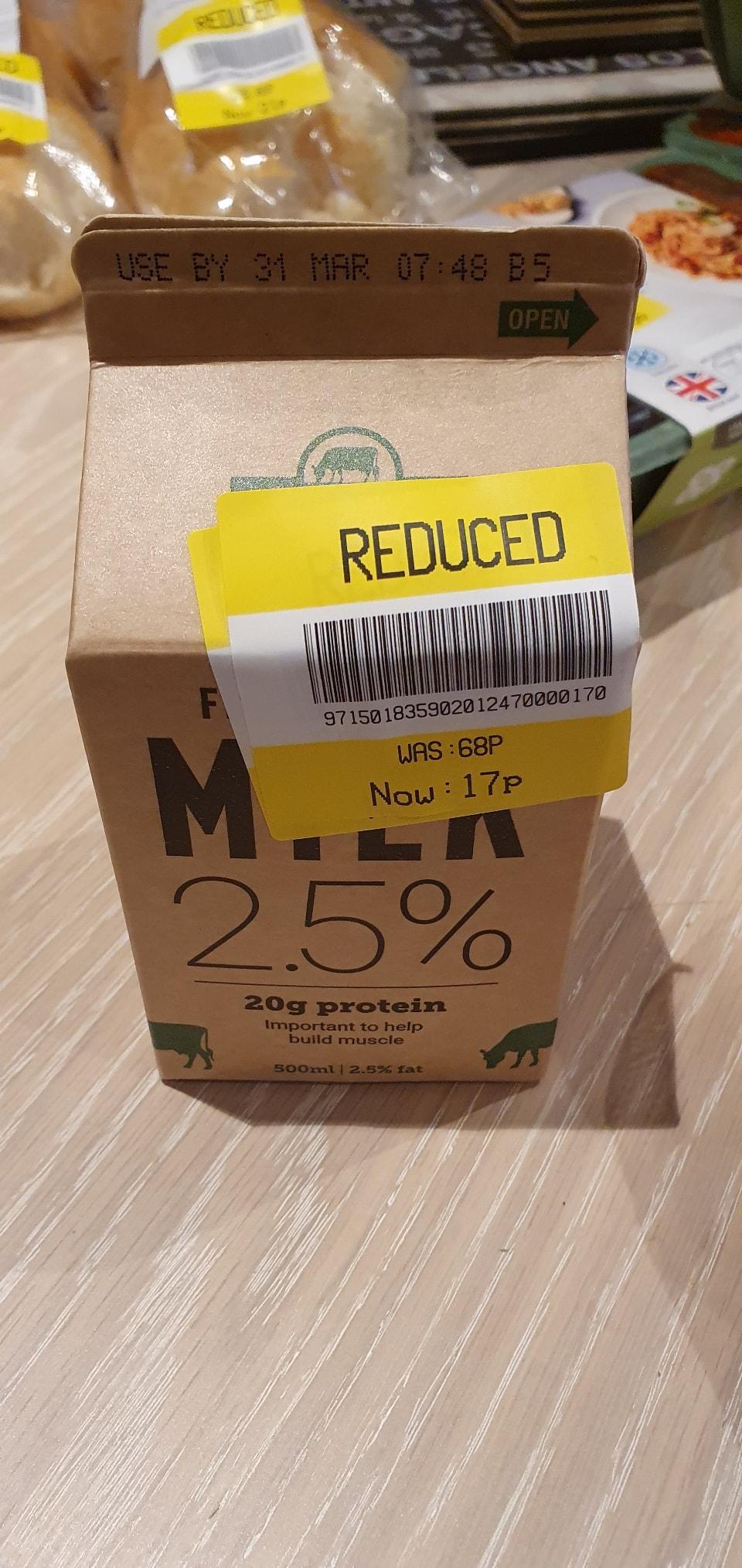Milk 2.5%
