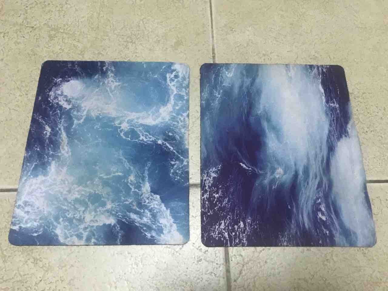 Used mouse pads