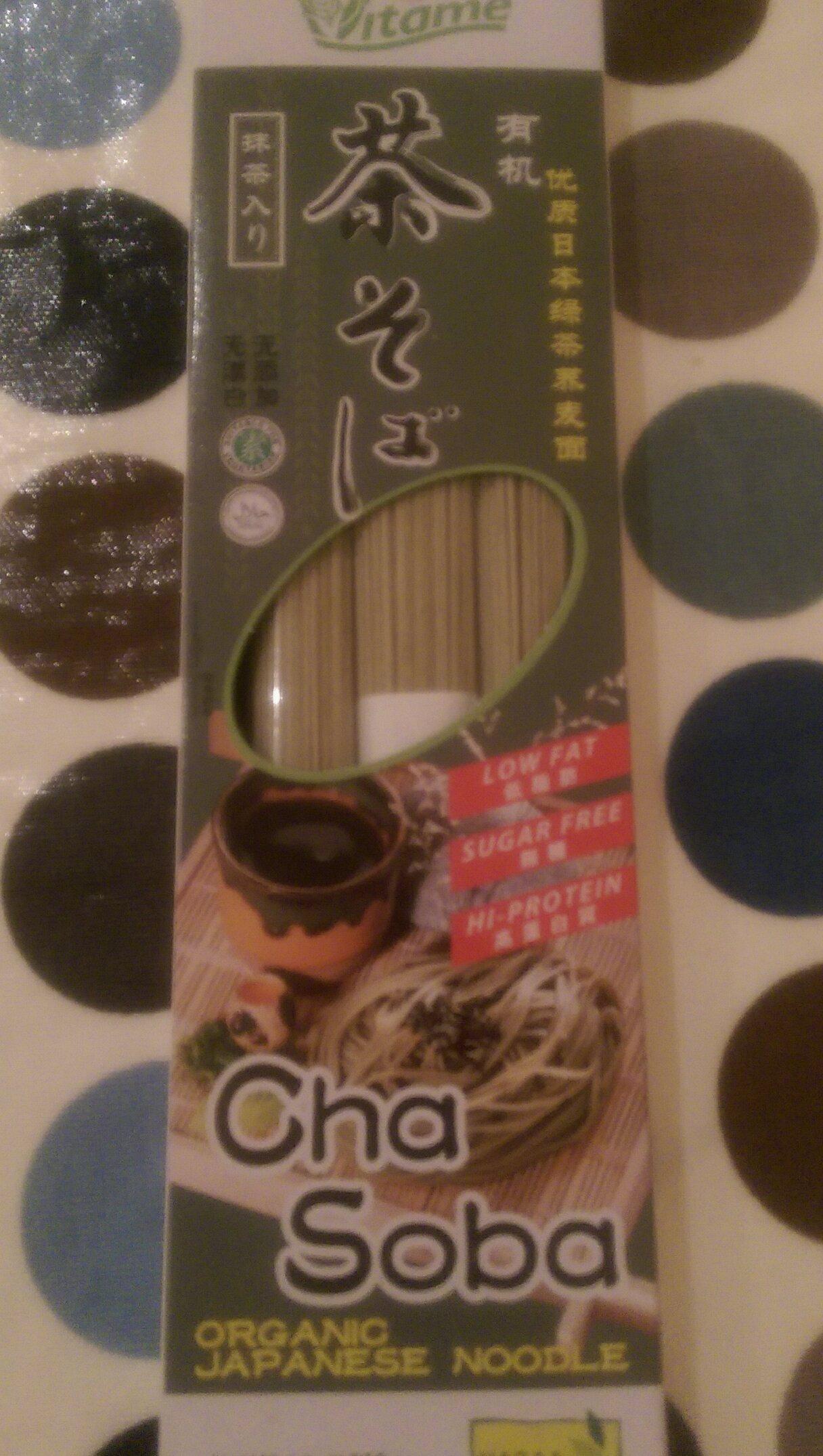 Cha Soba organic Japanese noodles