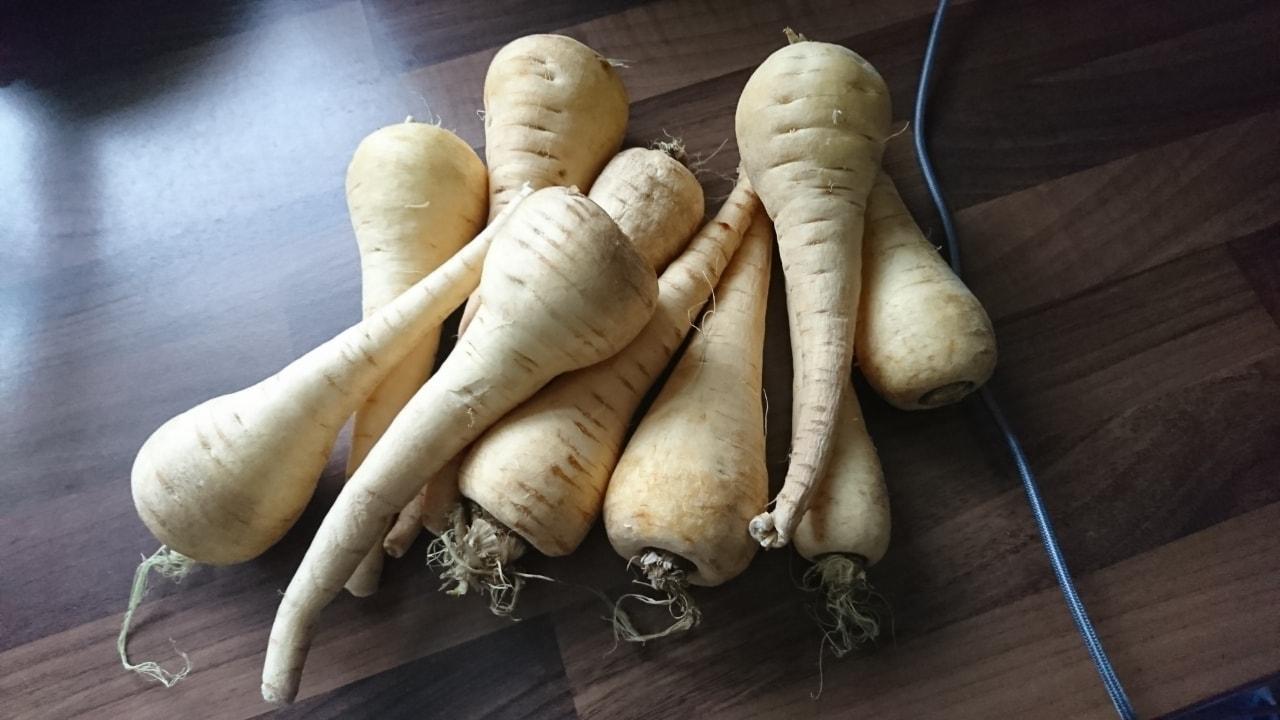 10 parsnips