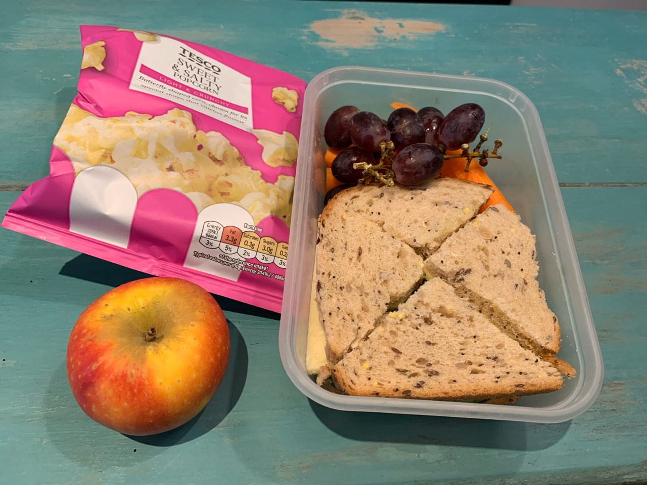 Spare packed lunch! #cook4kids