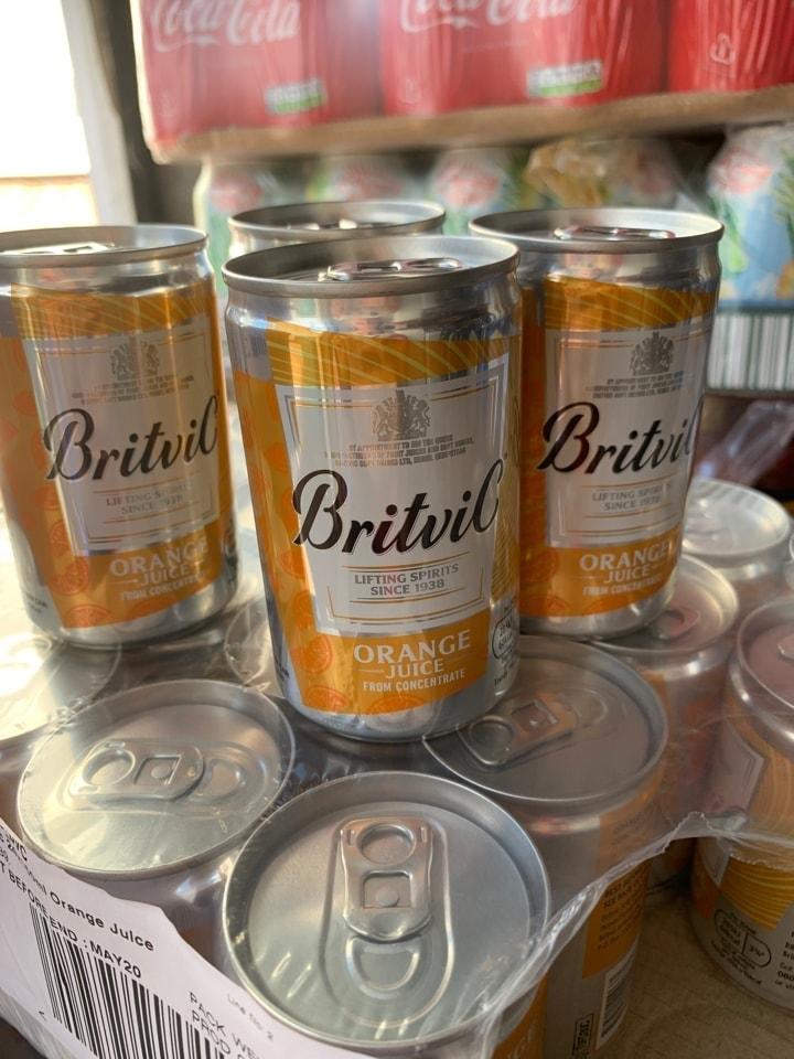 Britvic orange juice 150ml