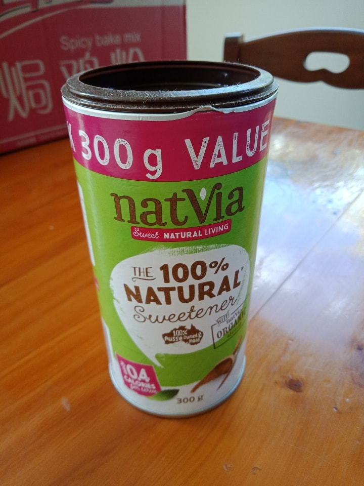 Natvia natural sweetener with stevia