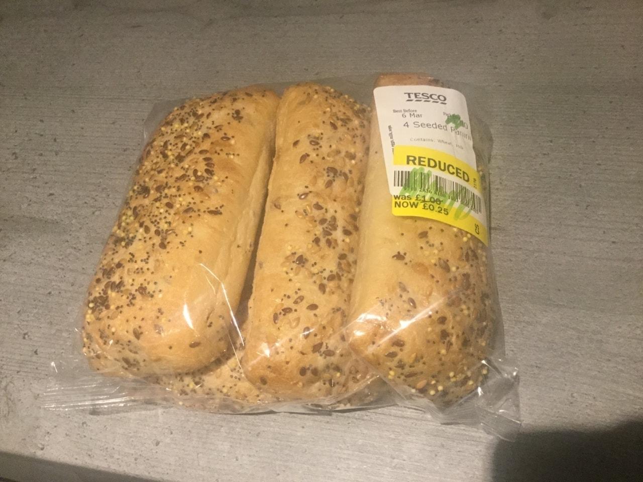 Seeded panini