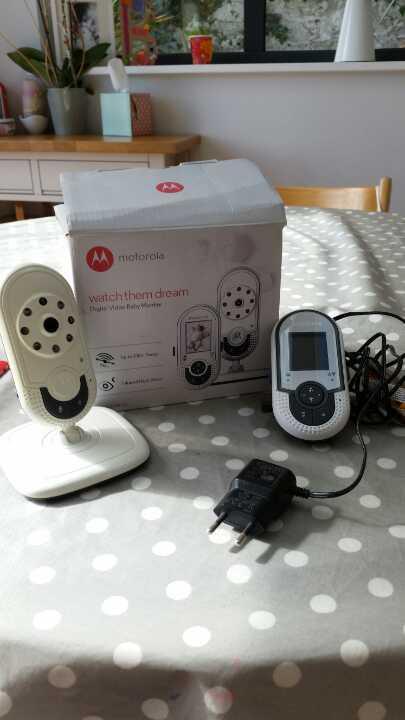 Motorola baby monitor EUROPEAN PLUGS