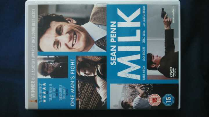 Sean Penn Milk DVD