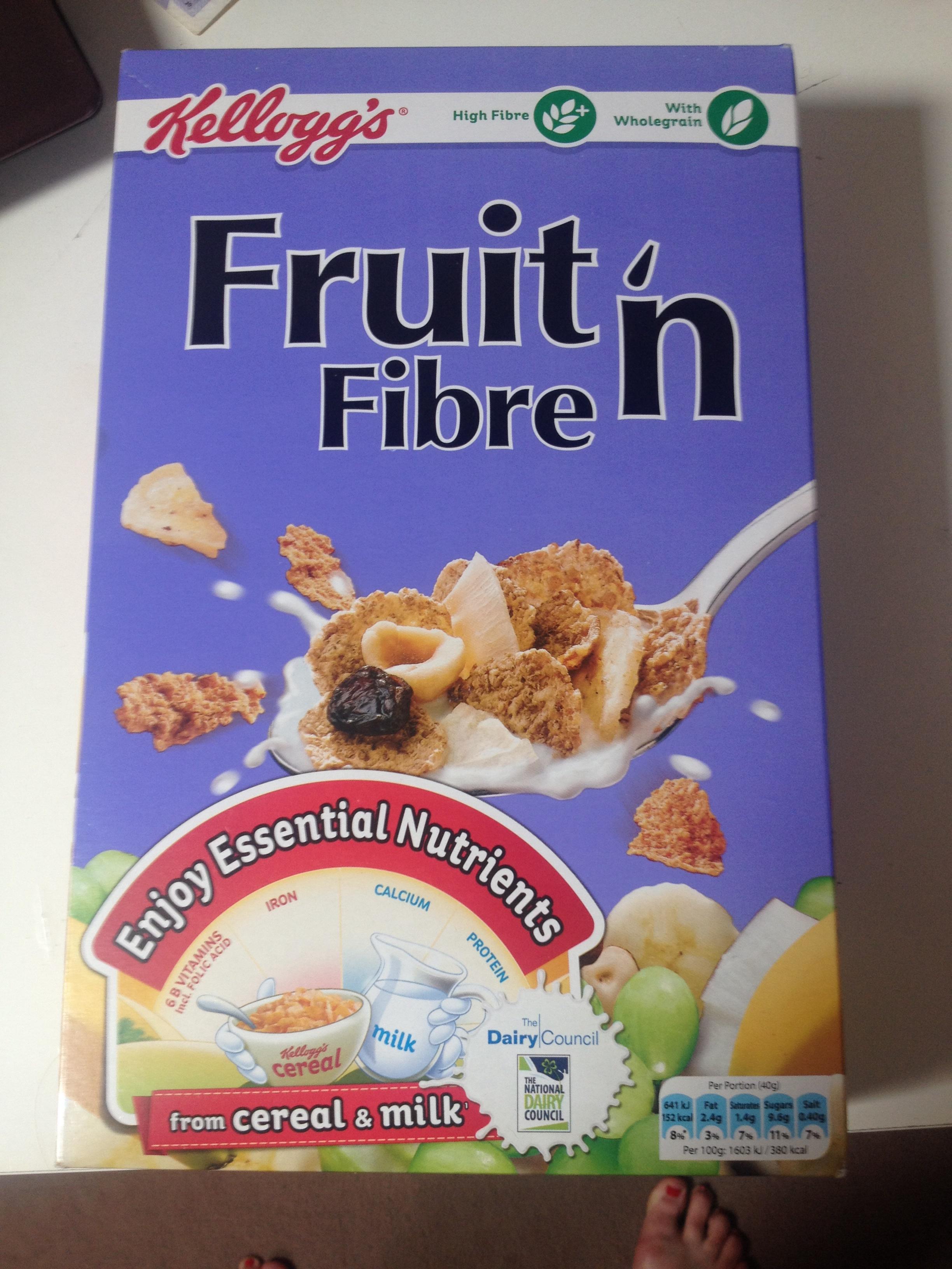 Cereal Fruit 'n Fibre