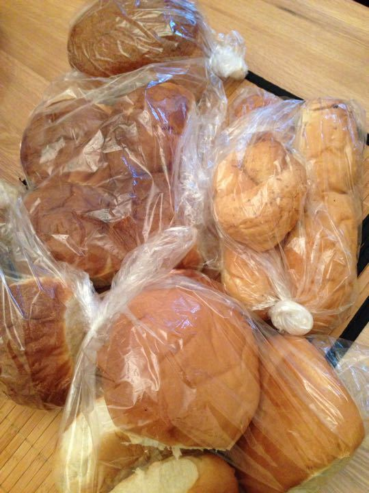 Breads/rolls from Emma's pantry
