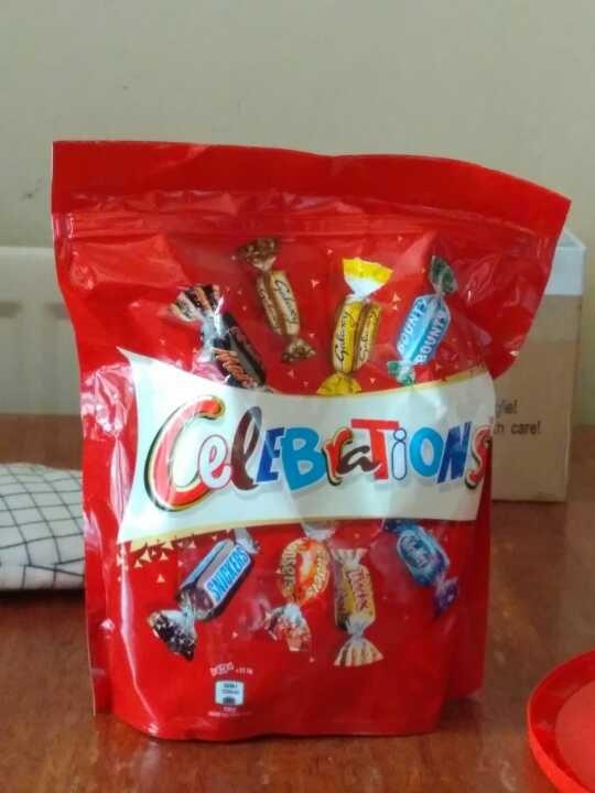 Celebration candies