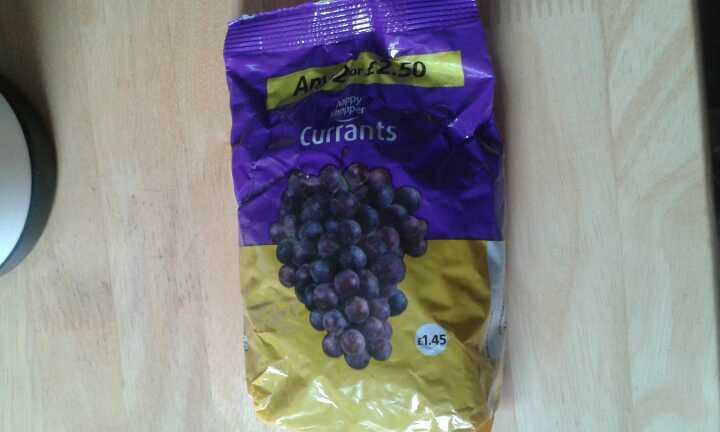 Currants 375g