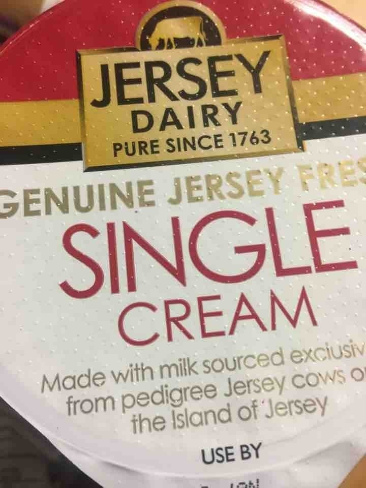 Single cream pick up by 10pm please