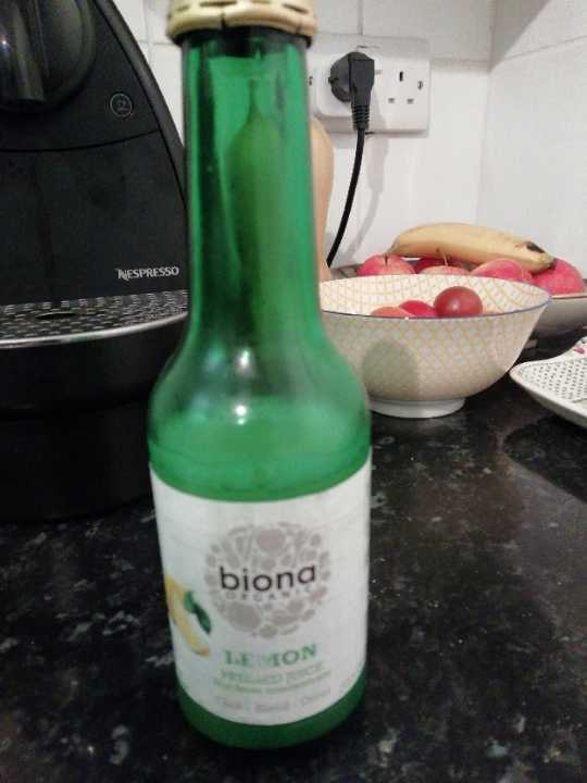 Biona lemon juice organic