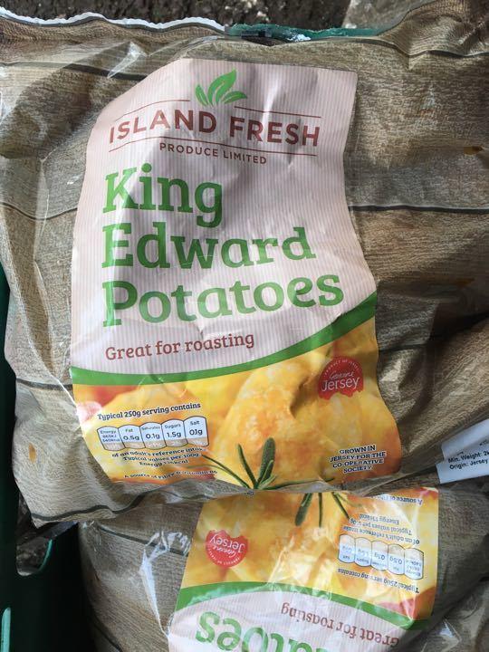 King Edward potatoes X 2