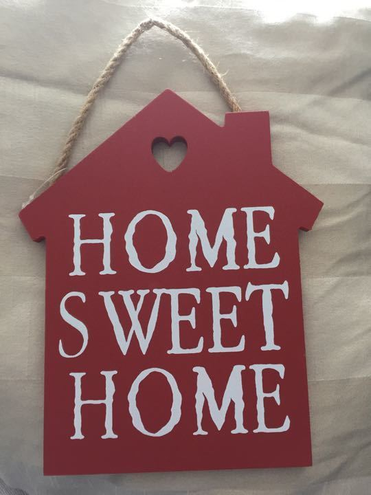 Home Sweet Home decoration