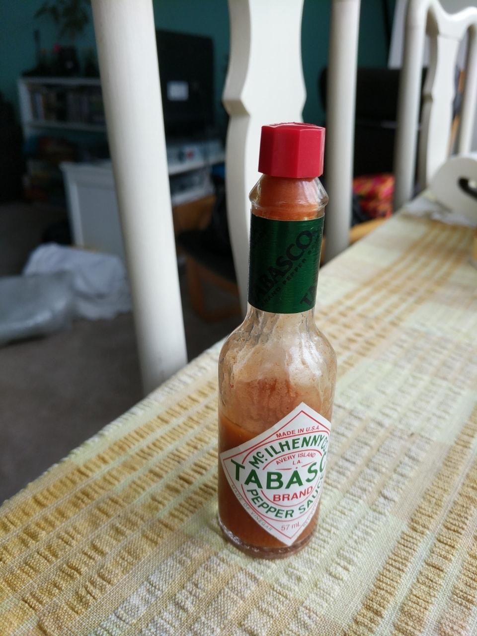 1/2 bottle Tabasco