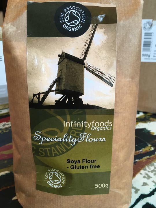 Infinity foods Soya gluten free flour