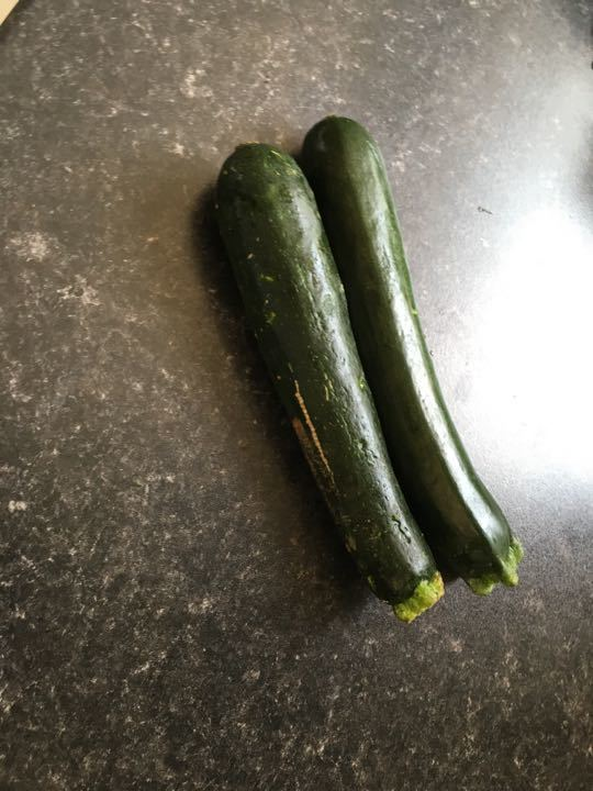 Courgettes X 2