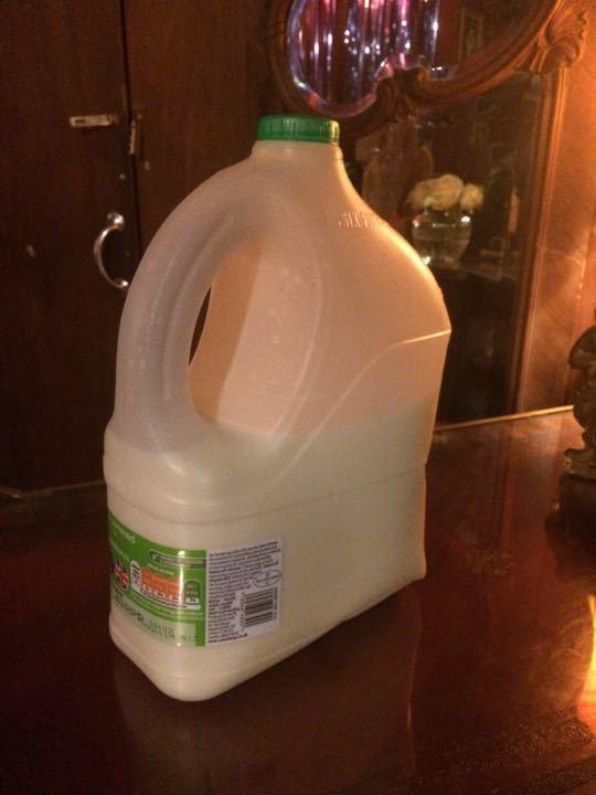 6 pint bottle of semi skimmed milk