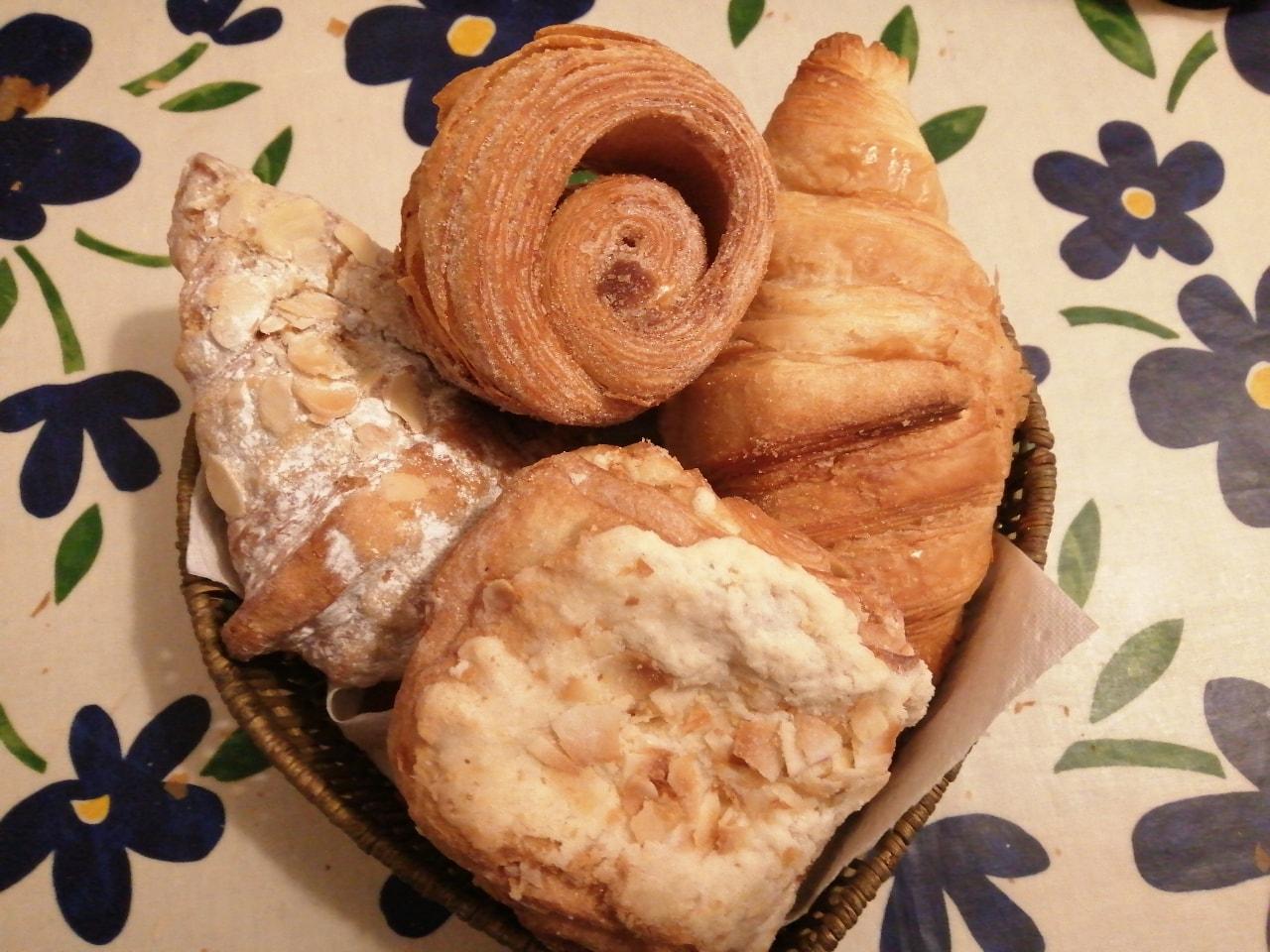 Flourpot pastries (lots today)