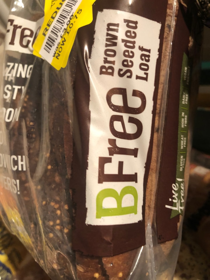Tesco- Bfree brown seeded loaf 400g