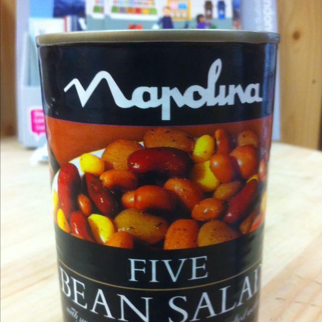 bean salad (tin)