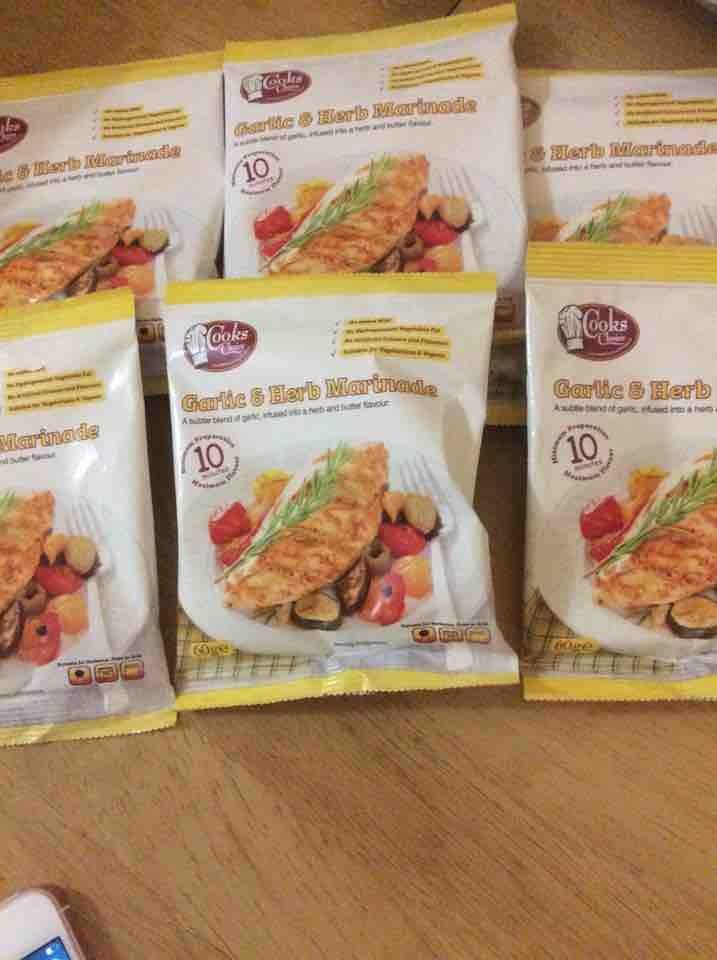 Food seasoning ,6 packs