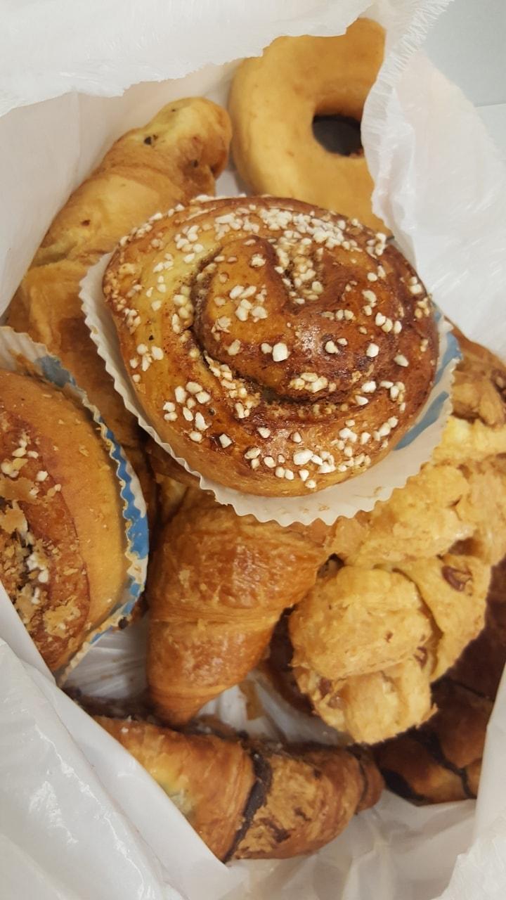 Bag of pastries