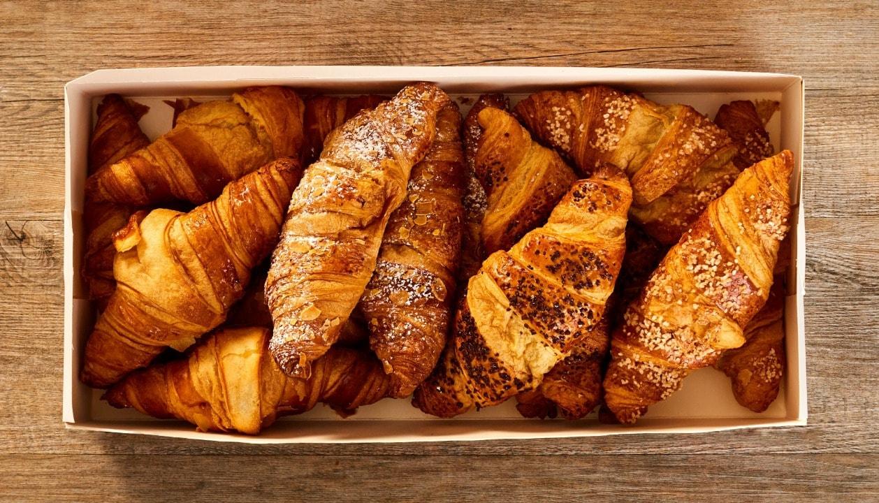 Plain Croissants from Pret!