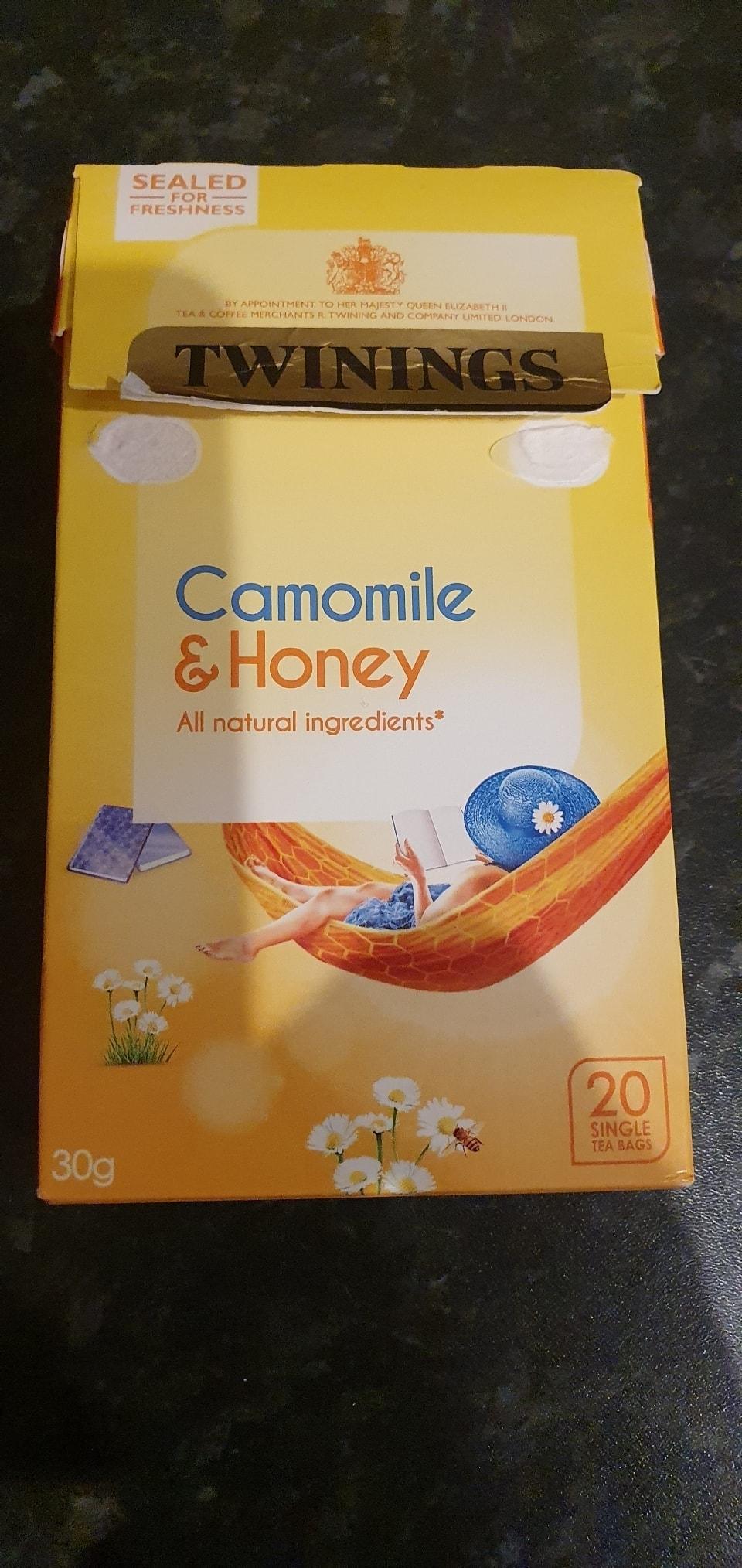 Twinings  Camomile and Honey Tea