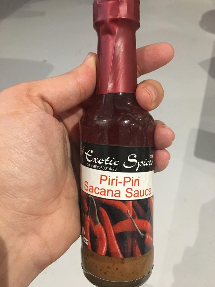 Exotic Spices Piri-Piri Sacana Sauce