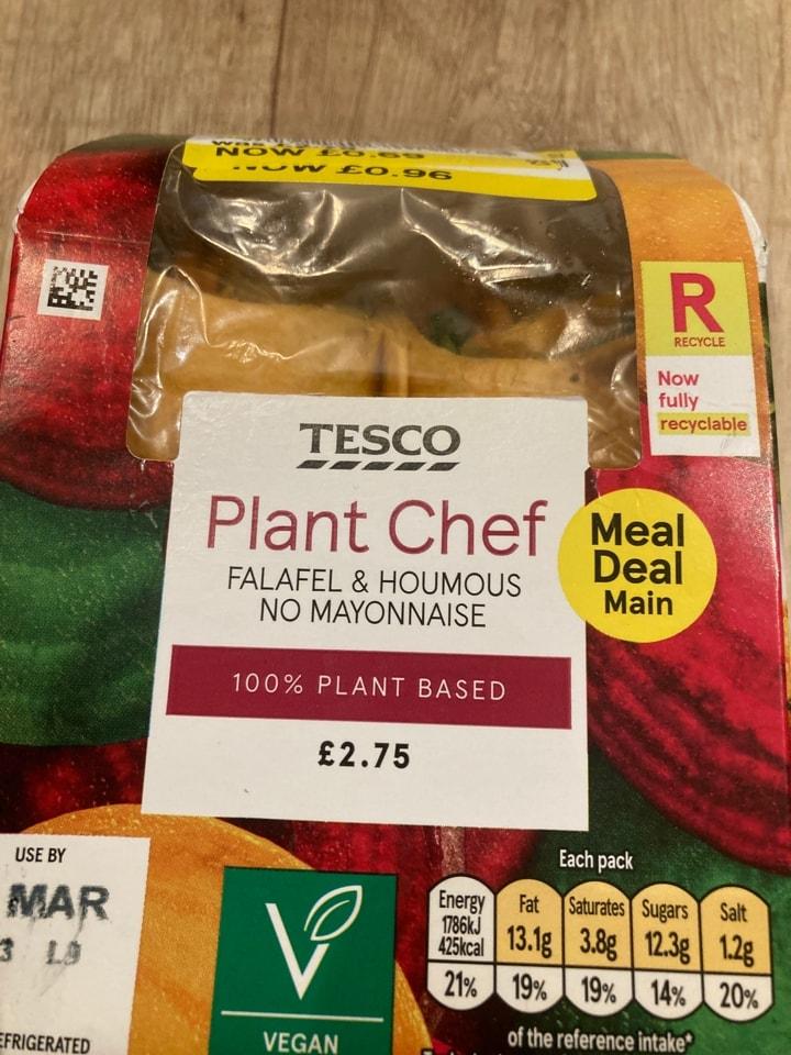 Plant chef wrap