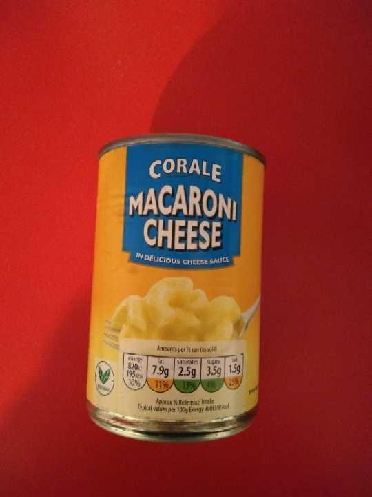 Canned mac 'n' cheese