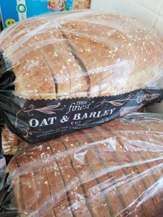 Oat and barley bread