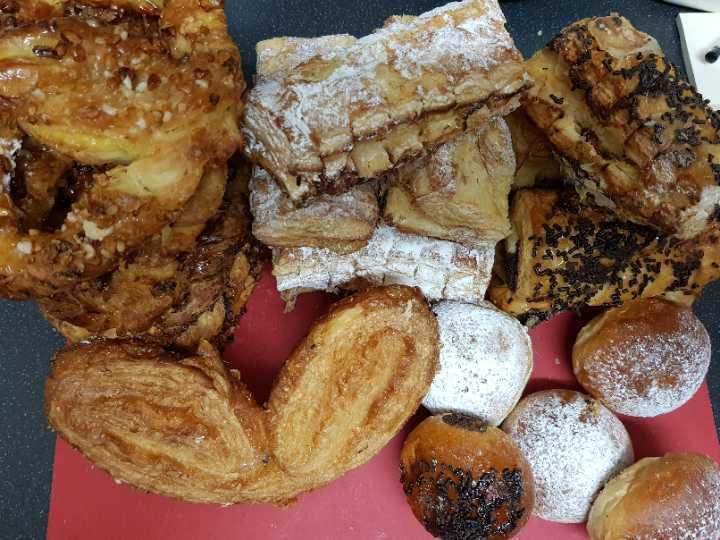 Sweet pastries