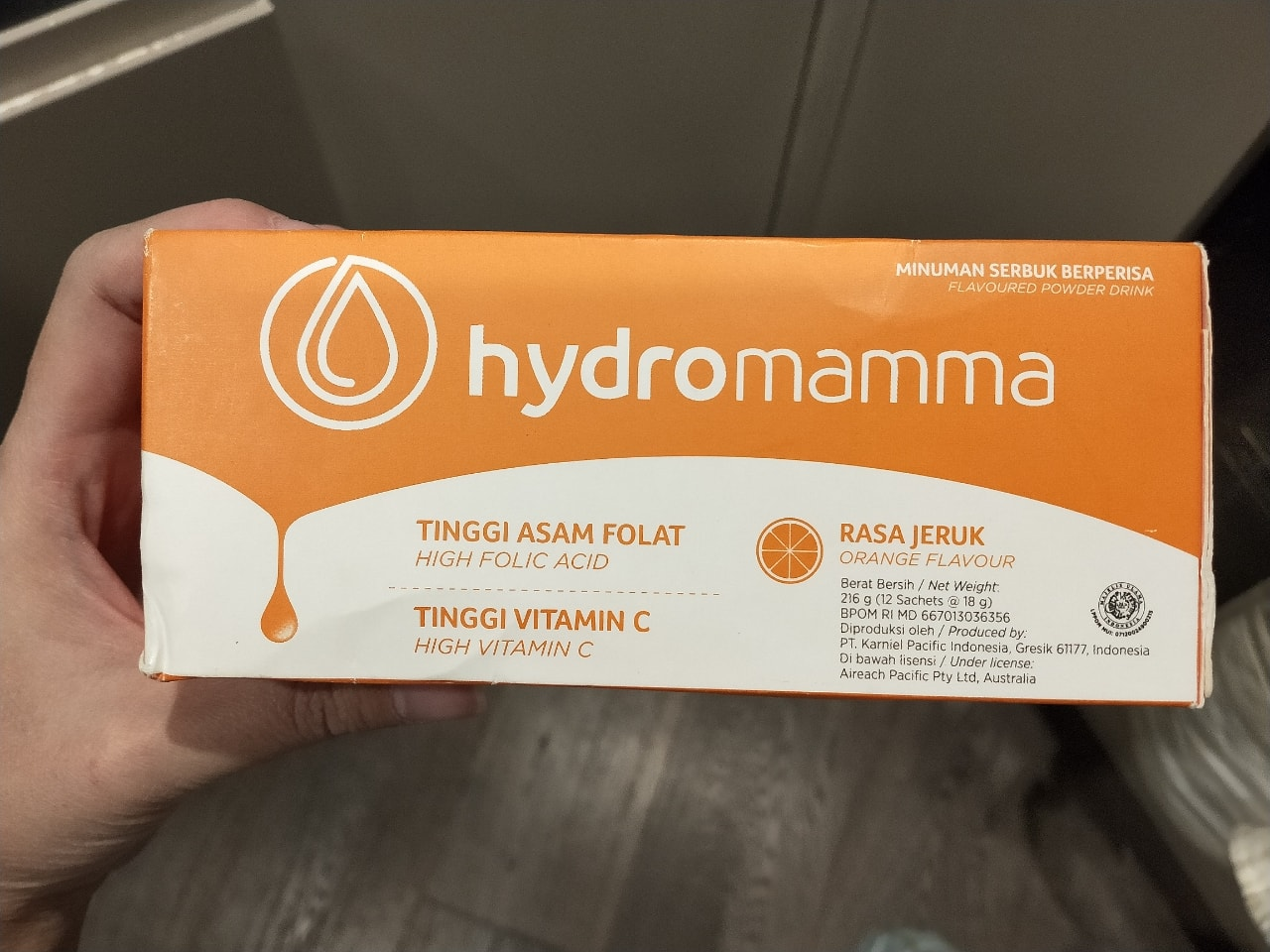 Hydromama Orange