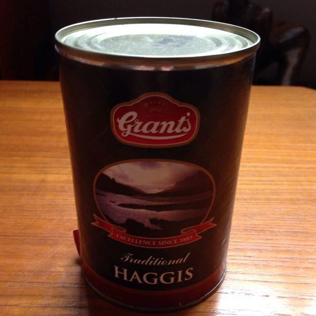 Grant's tinned haggis